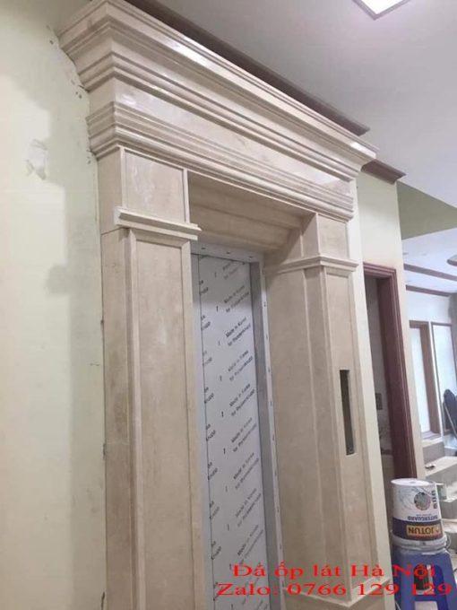 Đá marble ốp thang máy