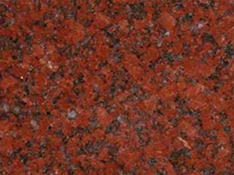 Đá granite đỏ ruby hoa nhỏ