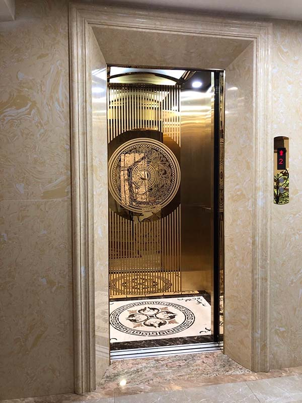 đá nhân tạo ốp thang máy