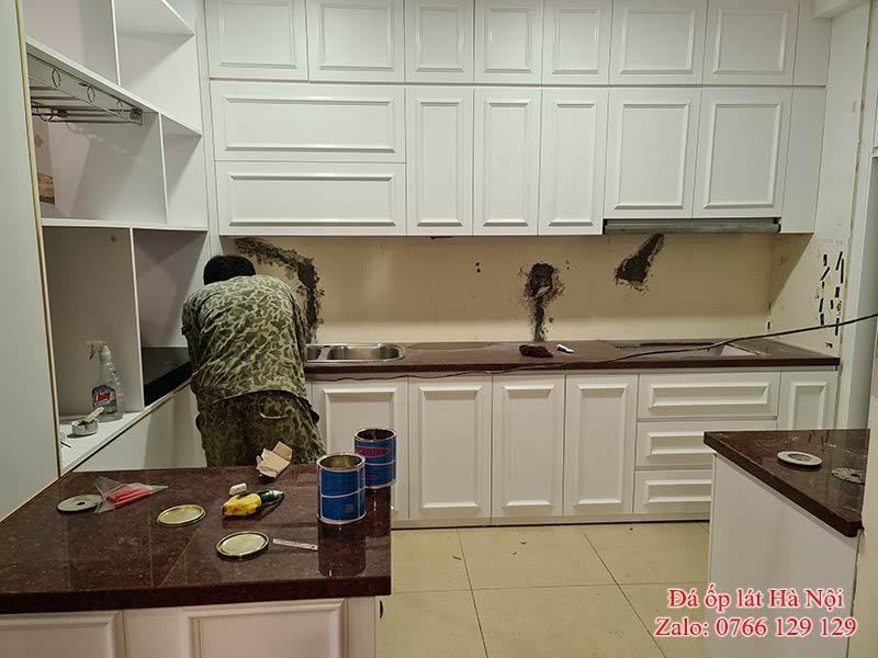 Đá ốp bếp Hà Nội