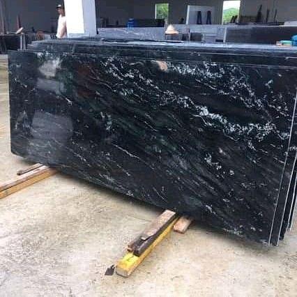 Đá Granite Đen Vân Trắng