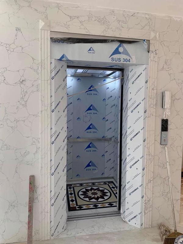 Đá ốp cửa thang máy