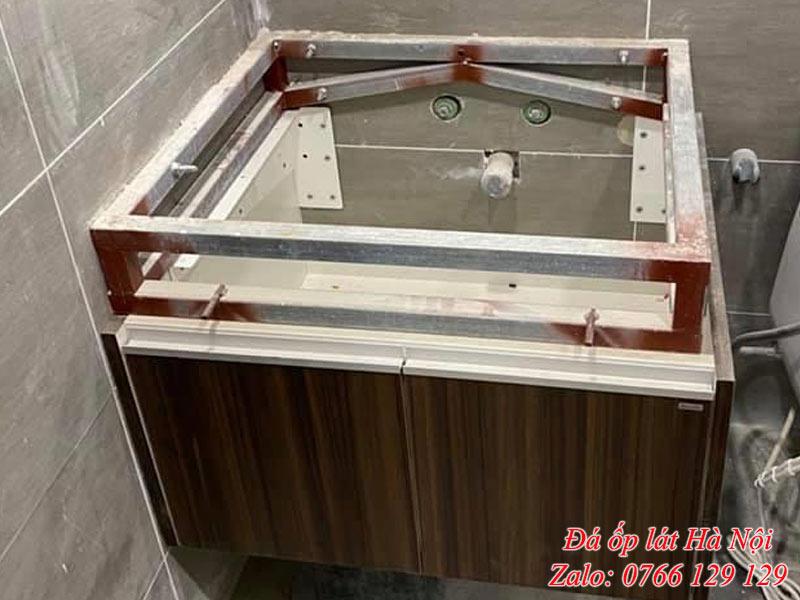 Khung đỡ bàn đá lavabo
