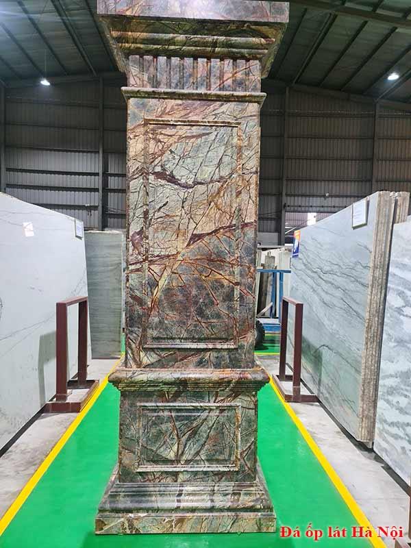 Cột vuông đá hoa cương