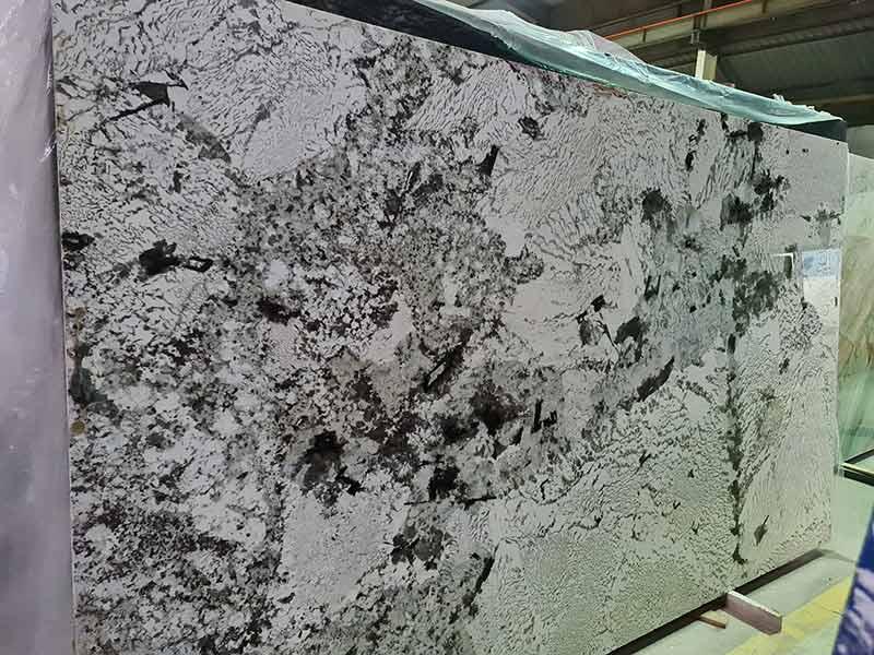 Ddá granite tự nhiên trắng alaska