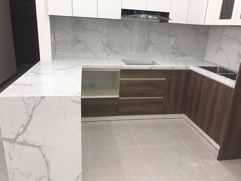 Đá granite nhân tạo ốp bếp