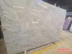 Đá marble tự nhiên trắng vân mây